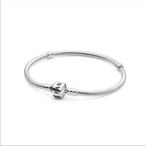 Pandora Signature Sterling Silver Bracelet